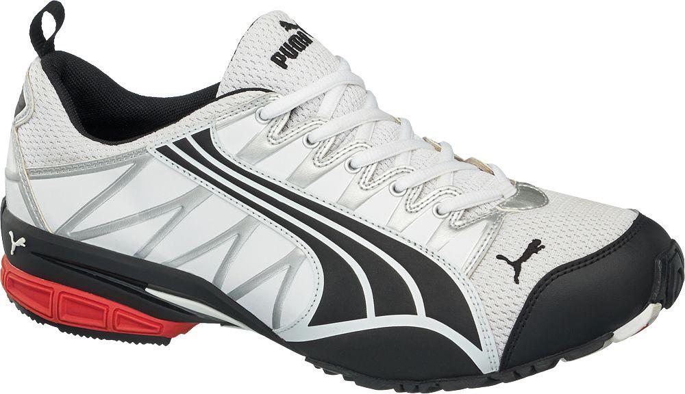 Deichmann - Puma Pánská běžecká obuv 10 černobílá