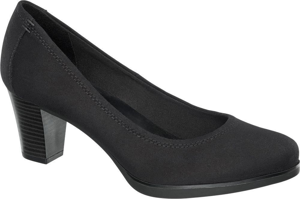 Siyah Topuklu Ayakkabı Graceland