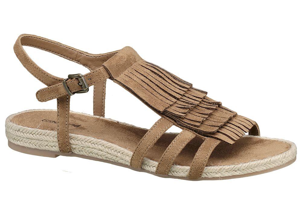 Sandały damskie Graceland brązowe