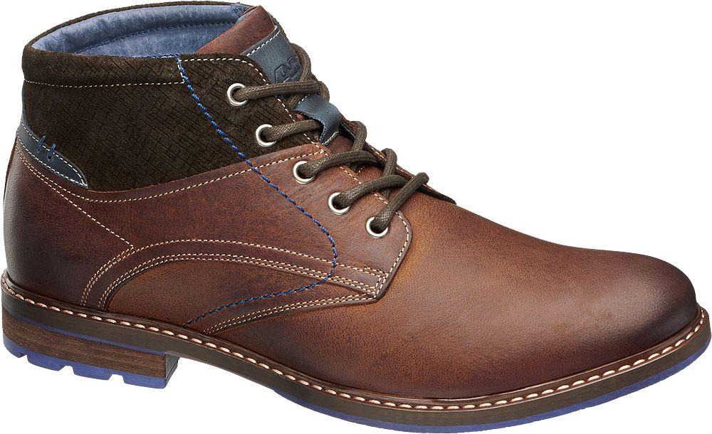 Deichmann - AM SHOE Kotníková obuv 45 hnědá