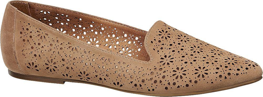Loafer a fiori