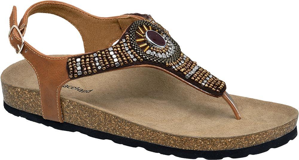 Kahverengi Parmak Arası Sandalet Graceland