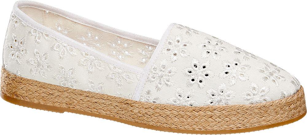 Beyaz Espadril Graceland