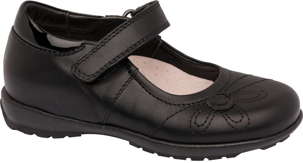 Toddler Girl Leather Bar Shoes