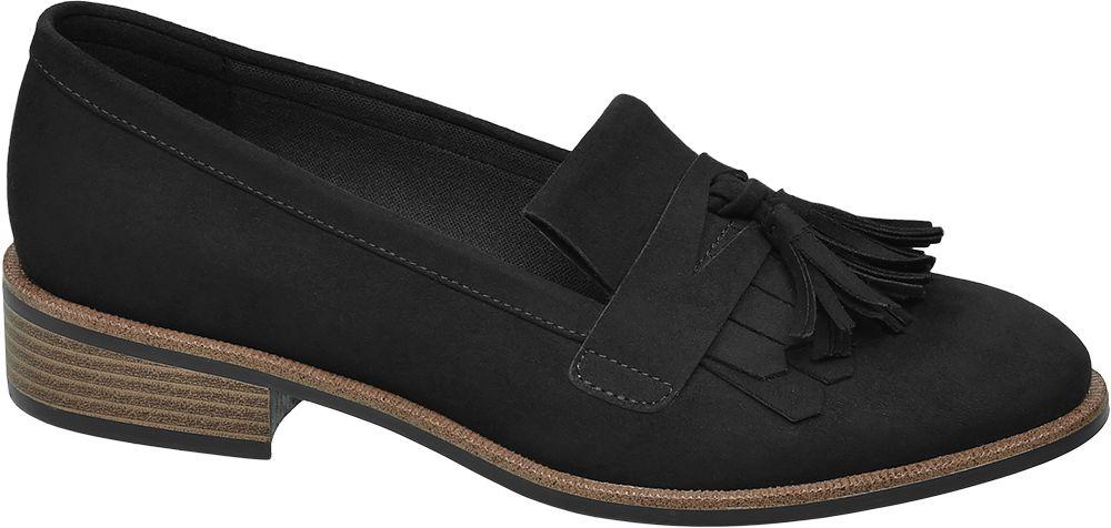 Siyah Kolej Ayakkabısı Graceland