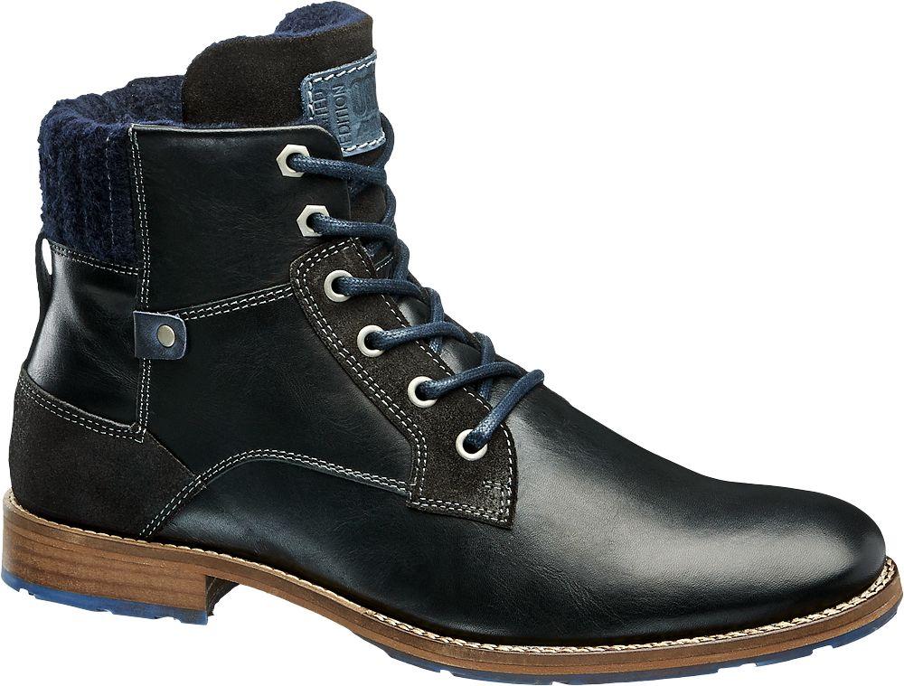 Deichmann - AM SHOE Kotníková obuv 44 modrá