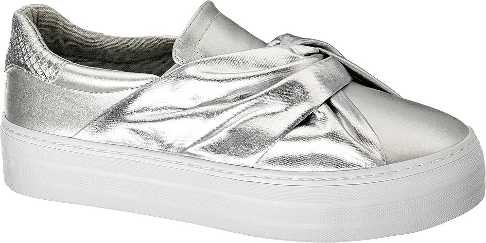 Gümüş Slip On Graceland