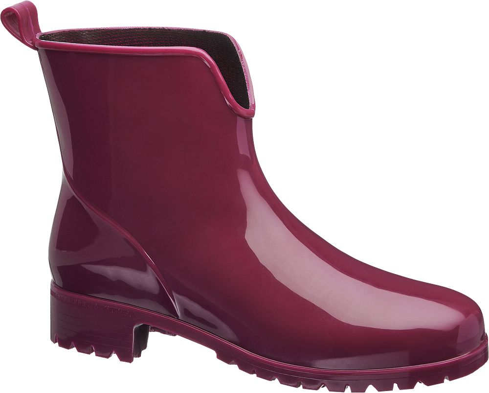 Bordo Yağmur Çizmesi Cortina