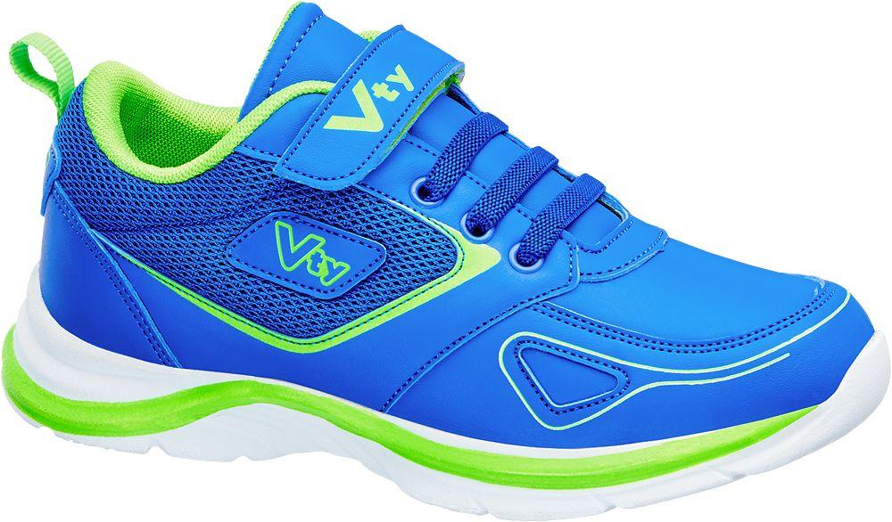 Vty Mavi Yeşil Sneaeker