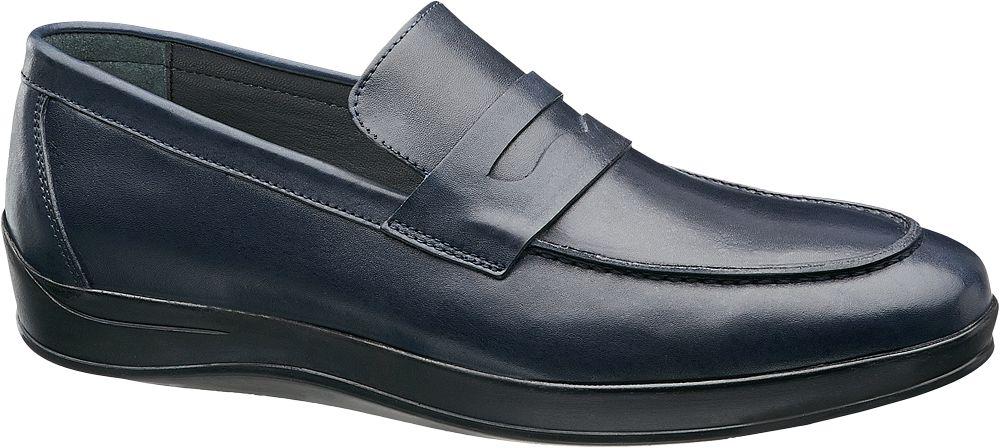 Claudio Conti Lacivert Deri Erkek Klasik Ayakkabı