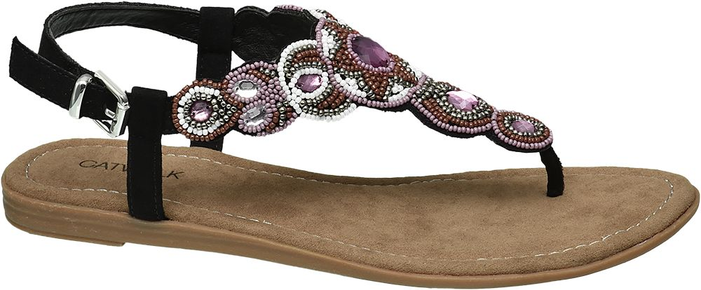 Sandały damskie Catwalk czarne