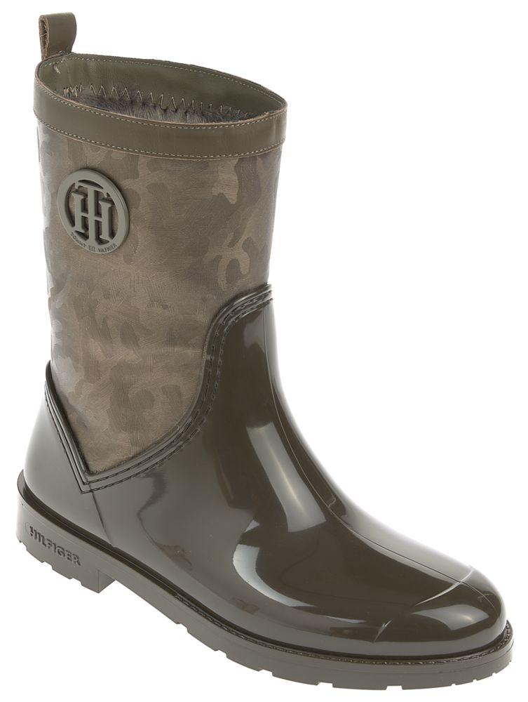 Gummistiefel - SHINY CAMO RAIN BOOT von ROLAND SCHUHE - Retargeting in Schwarz für 120,00€