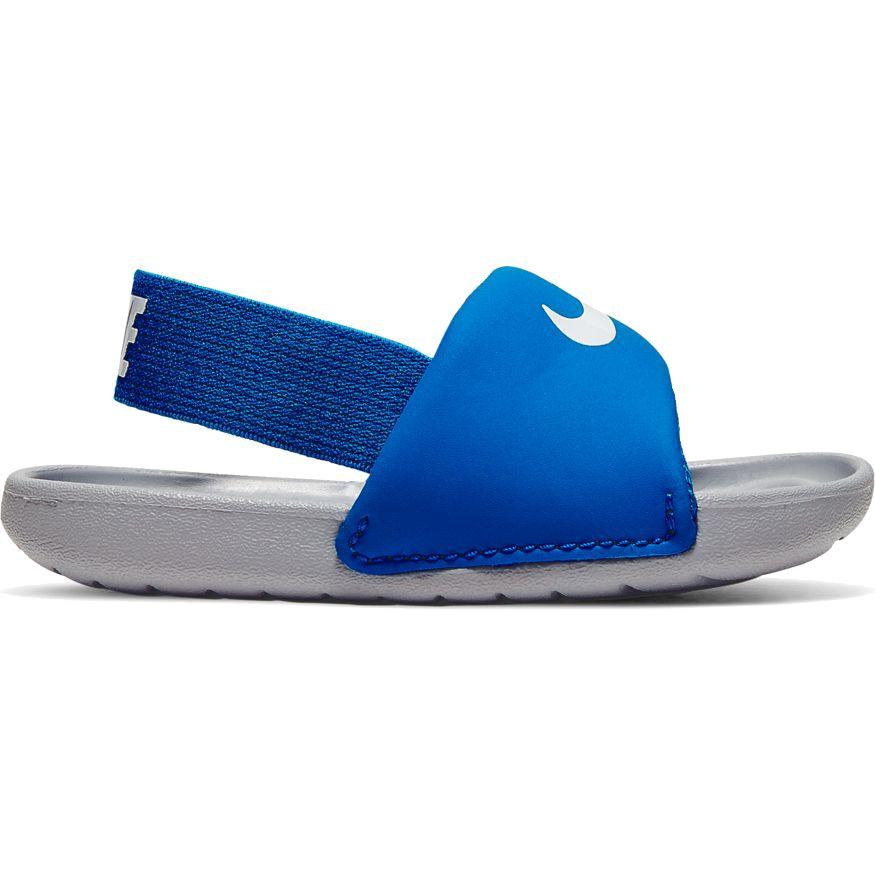niebieskie klapki dziecięce Nike Kawa