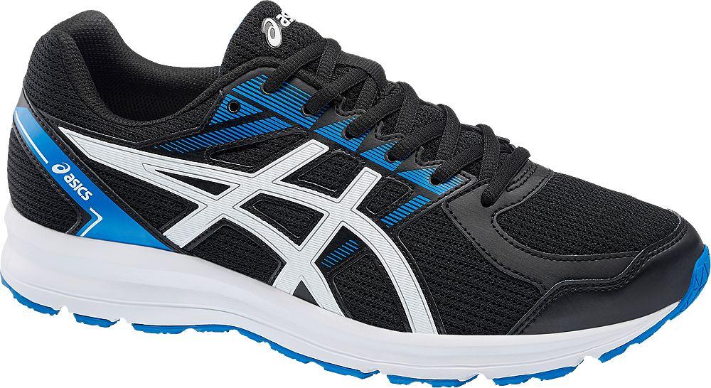 czarno-niebieskie buty męskie do biegania Asics Jolt