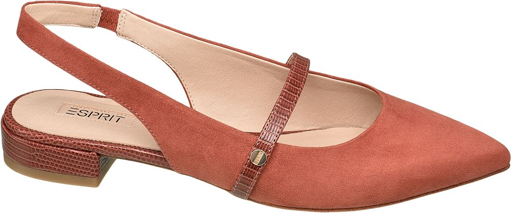 modne baleriny Esprit typu sling