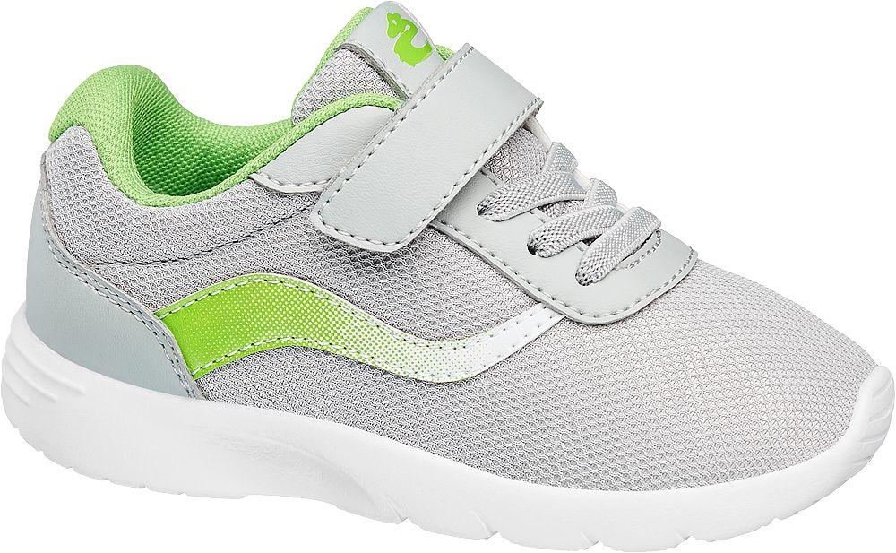 popielato-zielone sneakersy chłopięce Bobbi-Shoes