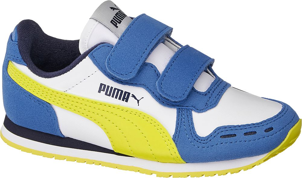 biało-niebieskie sneakersy dziecięce Puma