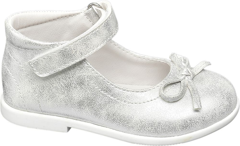 srebrne buciki dziewczęce Cupcake Couture