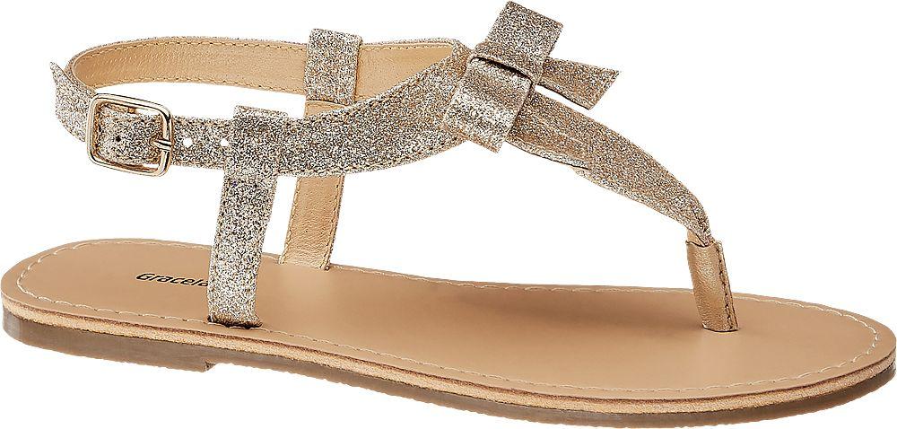 złote sandałki dziewczęce Graceland