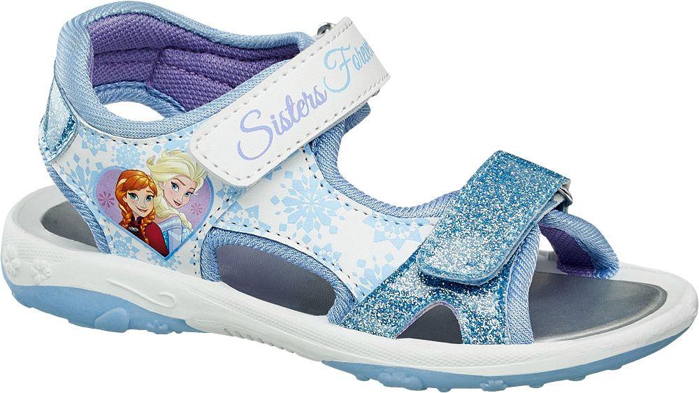 Sandały dziecięce Disney Frozen niebieskie