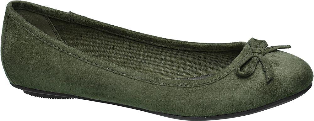 Deichmann - Graceland Baleríny 41 zelená