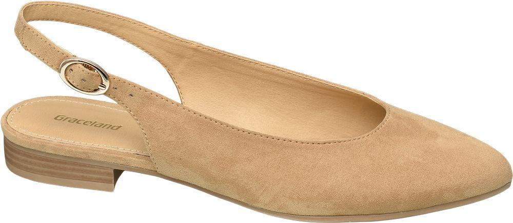 Obraz przedstawiający baleriny damskie Graceland beżowe