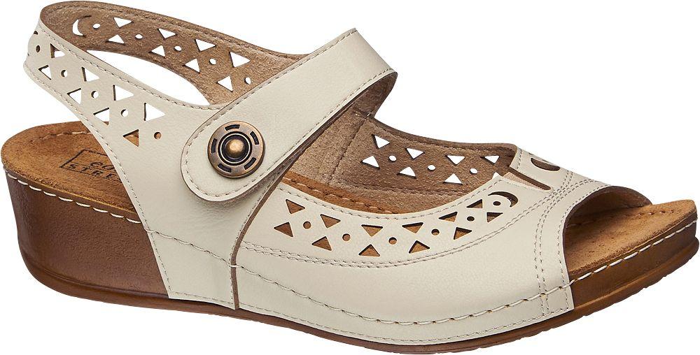 Sandały damskie Easy Street beżowe