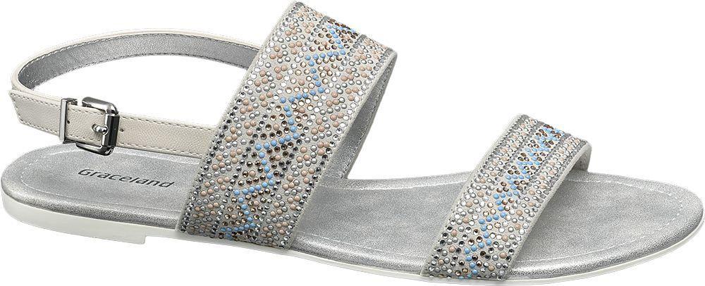 Sandały damskie Graceland beżowe