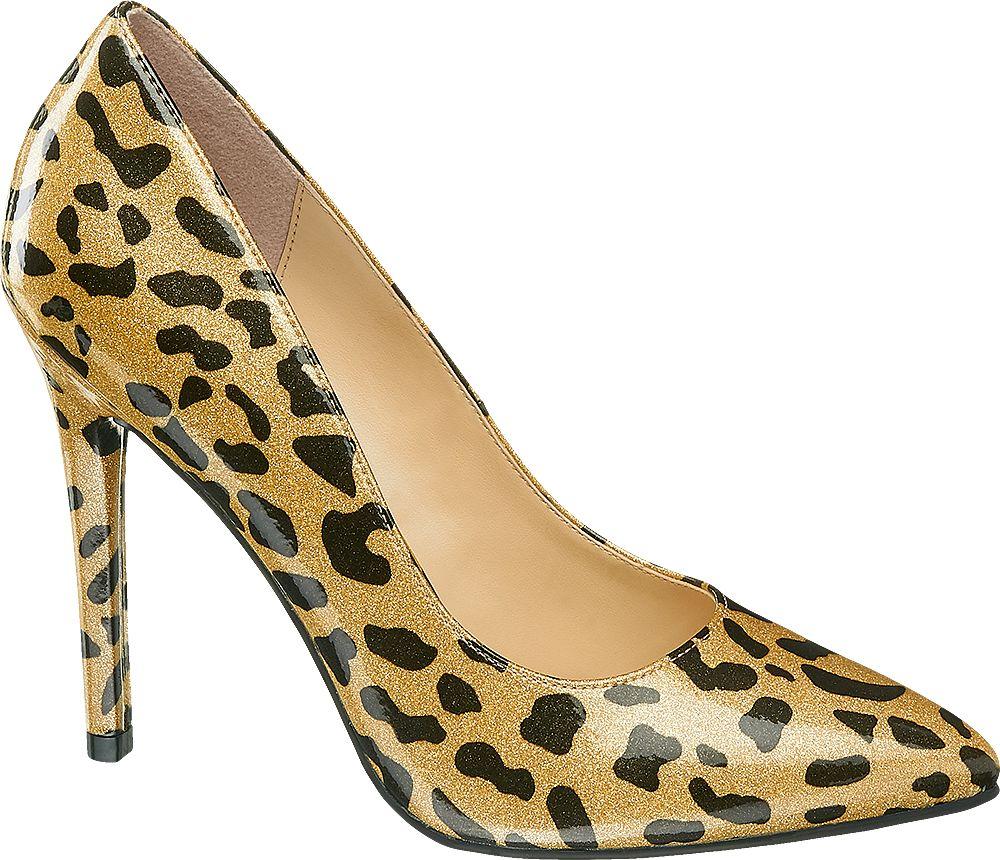 Szpilki damskie Catwalk złote