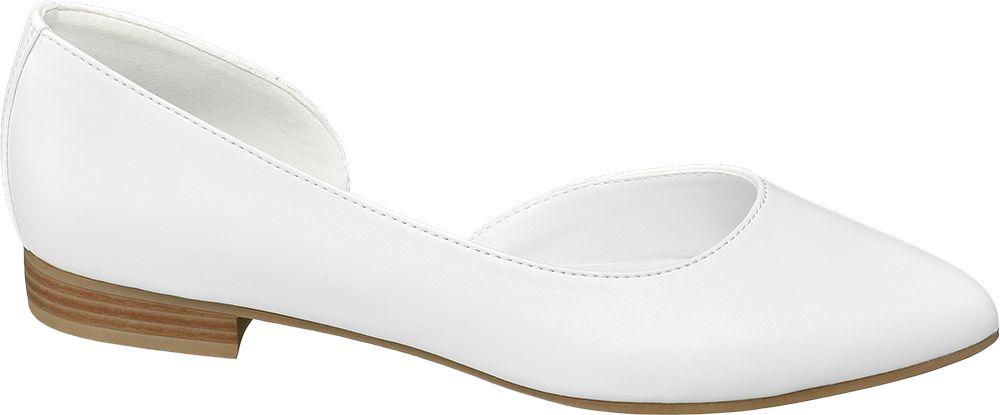 Obraz przedstawiający baleriny damskie Graceland białe