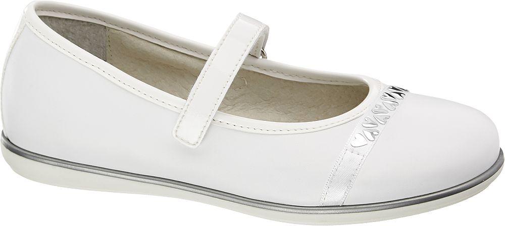 Baleriny dziecięce Graceland białe