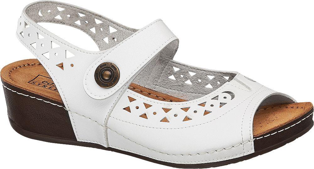 Sandały damskie Easy Street białe
