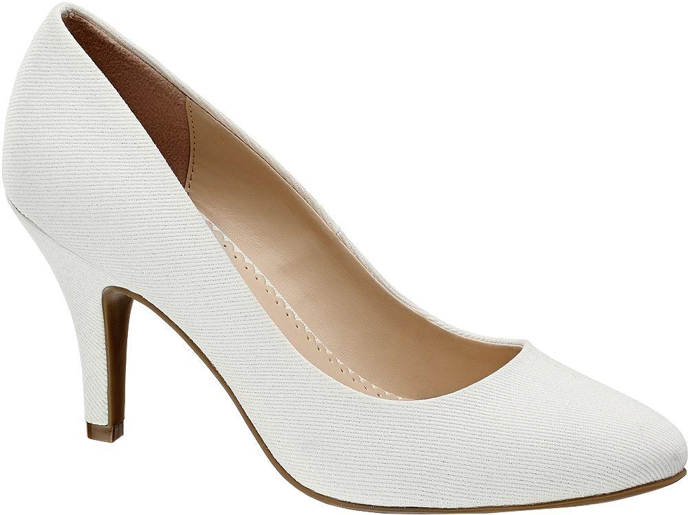 Szpilki damskie Graceland białe