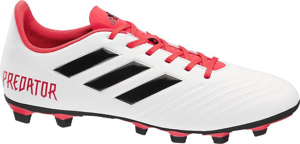 adidas - Bílé kopačky Predator Adidas 18.4 FG Adidas