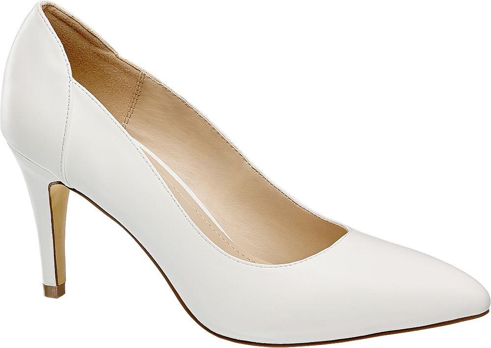 Graceland Bílé lodičky  bílá