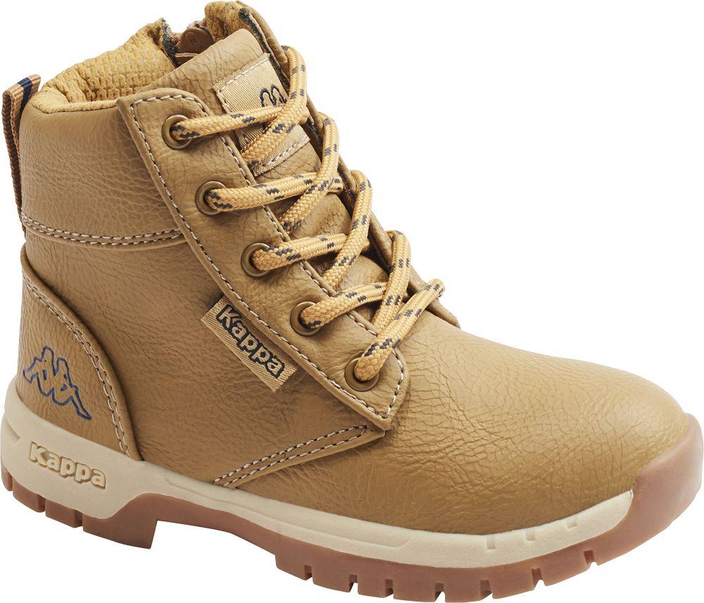 Kappa - Béžová členková obuv na zips Kappa Cammy K