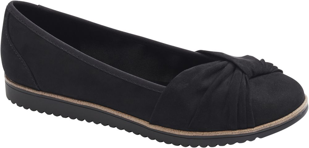 Baleriny damskie Graceland czarne