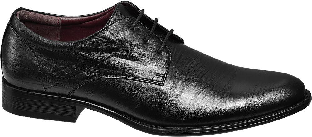 eleganckie buty męskie Memphis One czarne