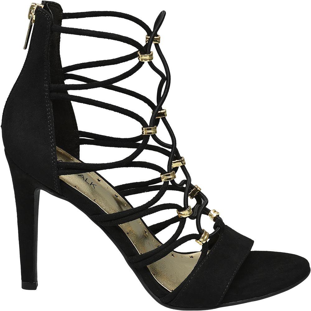 Sandałki damskie Catwalk czarne