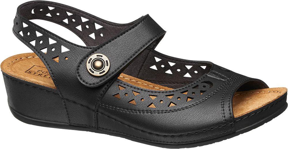 Sandały damskie Easy Street czarne