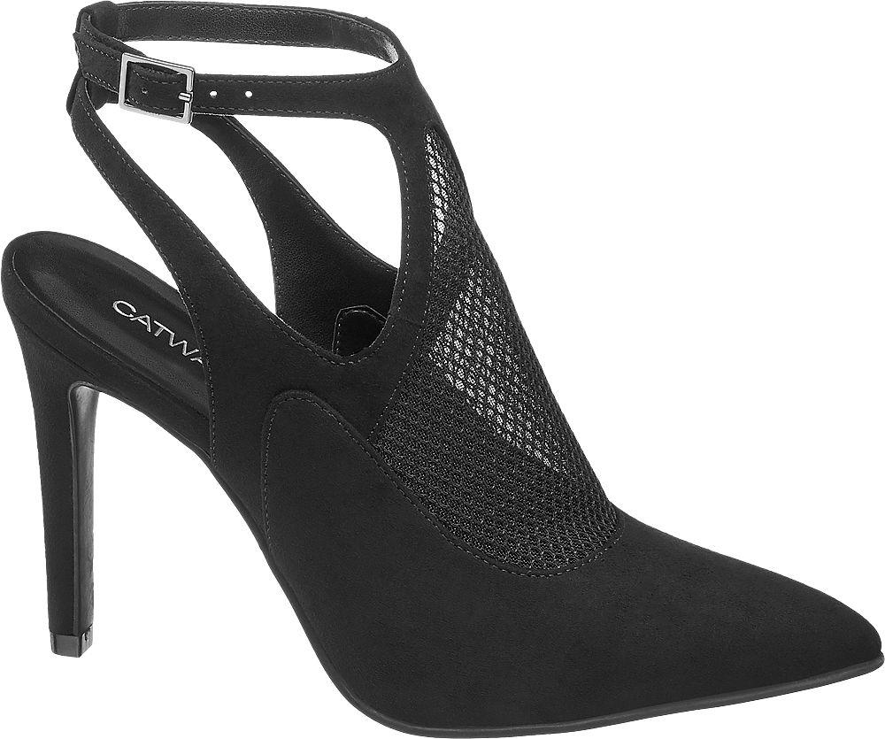 Szpilki damskie Catwalk czarne