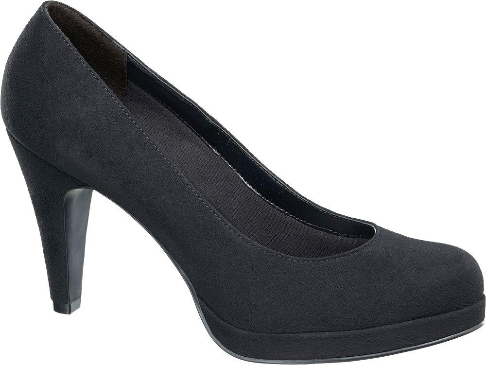 Czółenka - Szpilki damskie Graceland czarne