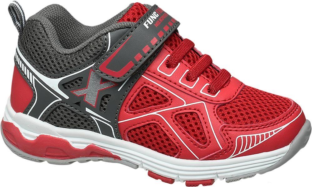Półbuty dziecięce Bobbi-Shoes czerwone