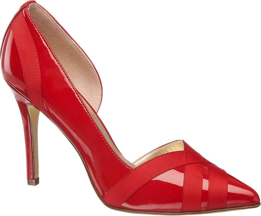 Szpilki damskie Graceland czerwone