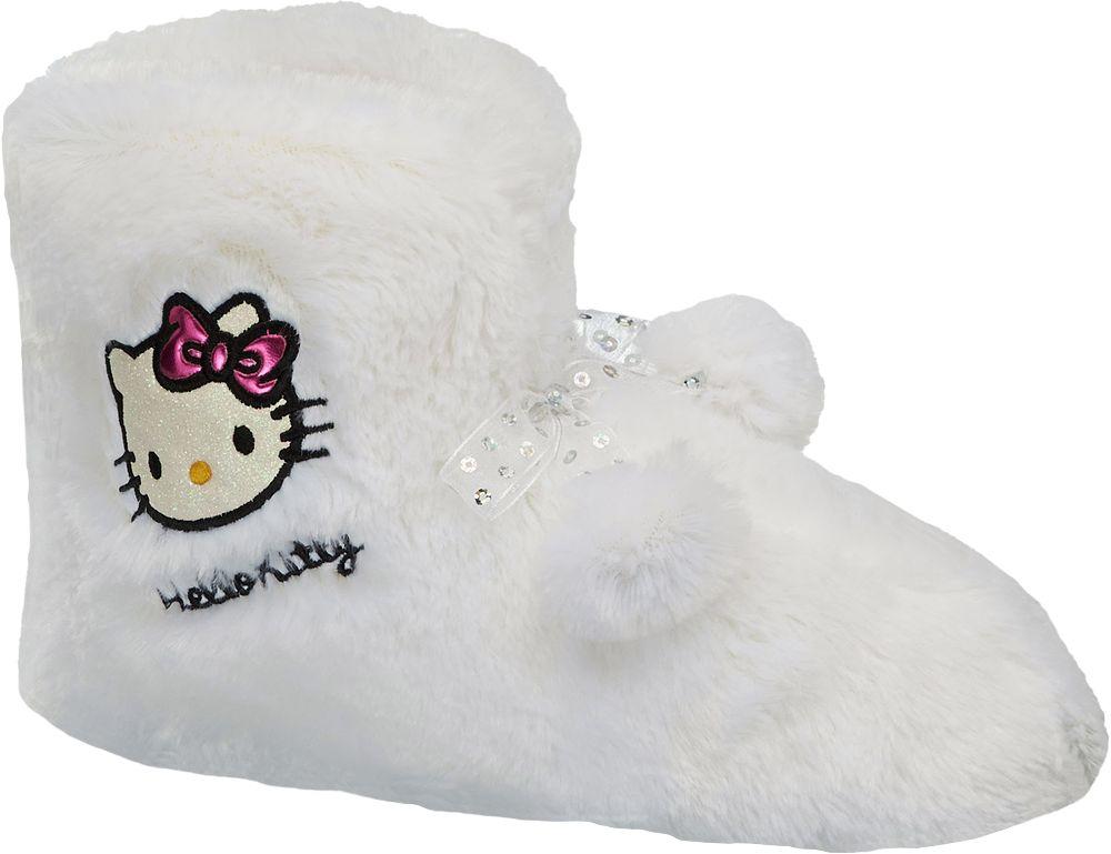 Deichmann - HELLO KITTY Domácí obuv Hello Kitty 41 bílá