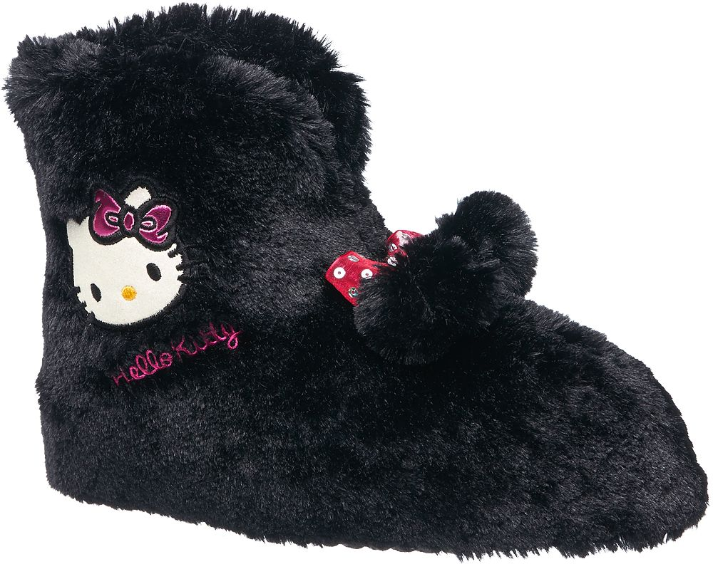 Deichmann - HELLO KITTY Domácí obuv Hello Kitty 39 černá