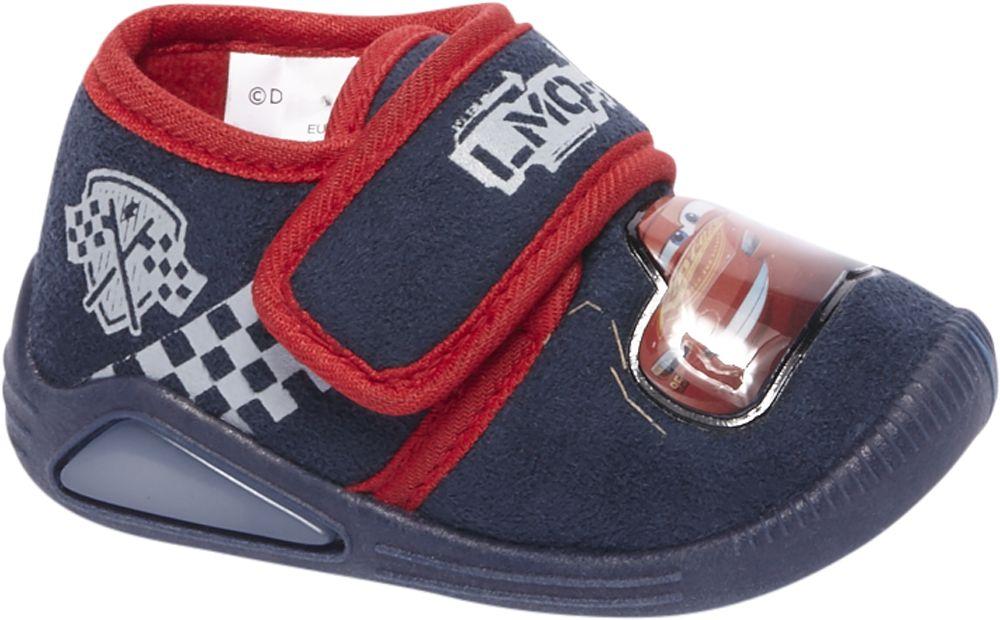 Deichmann - Cars Domácí obuv se světýlkem 21 modrá