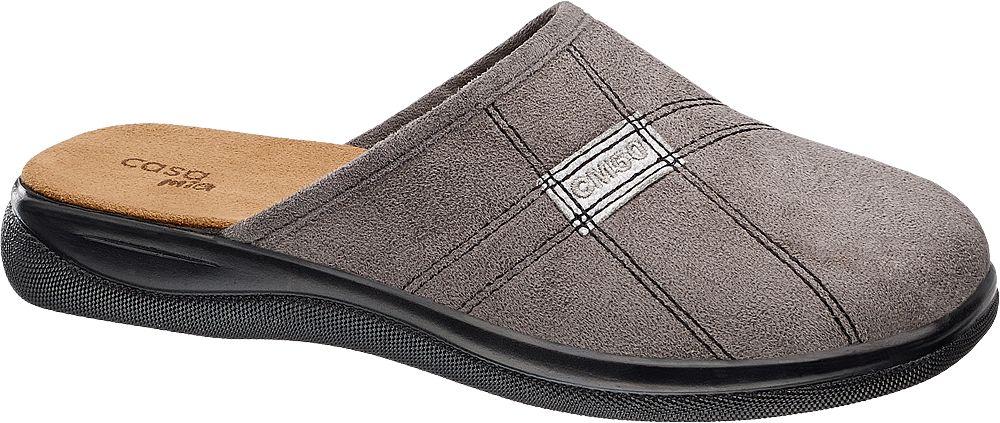 Deichmann - Casa mia Domácí obuv 44 šedá