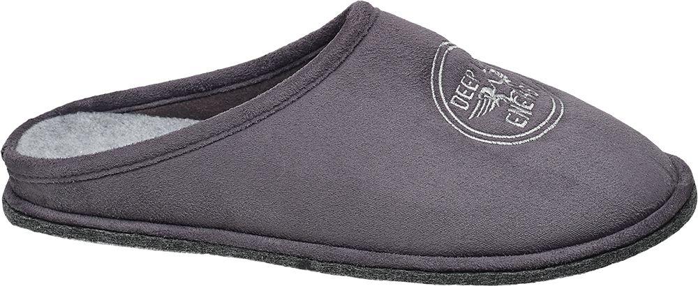 Casa mia Domácí obuv  šedá