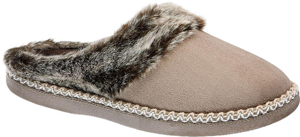 Deichmann - Casa mia Domácí obuv 39 šedobéžová